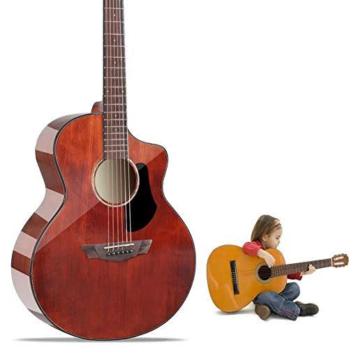 Guitarra eléctrica Guitarra acústica de la guitarra acústica Con Funda Guardia Pick...