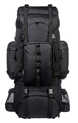 Amazon Basics Internal Frame Hiking Camping...