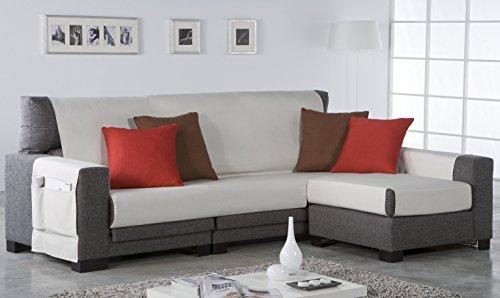Zebra Textil 21466 - Salve sofa, color Marrón, tela