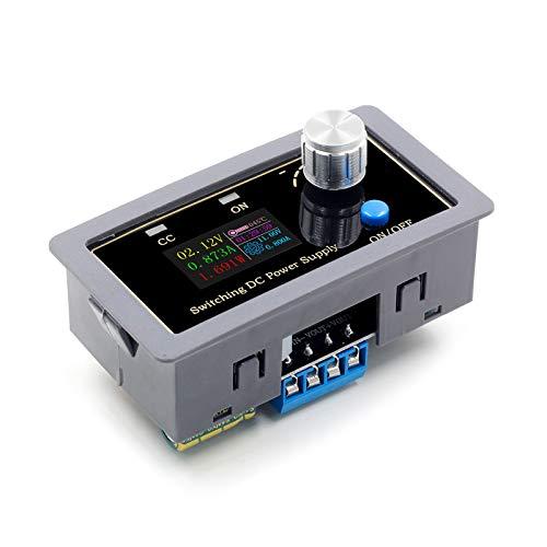 ZHITING Fuente de alimentación ajustable CNC programable fuente de alimentación regulada DC regulable DIY voltaje constante y corriente constante medidor de carga solar caso