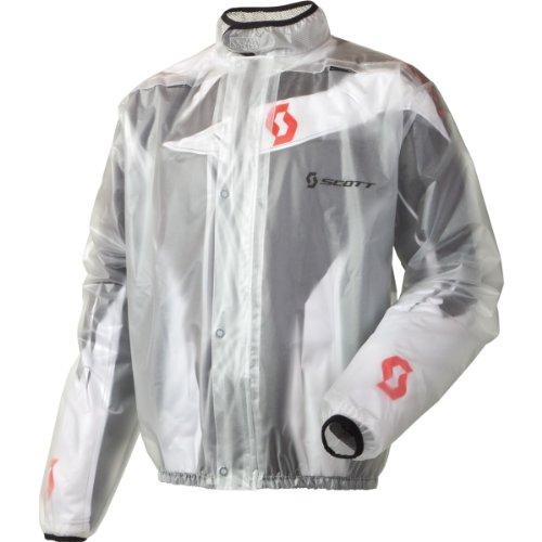 Scott Rain MX Motorrad/Fahrrad Regenjacke klar 2014 B-Ware: Größe: XXXL (60)