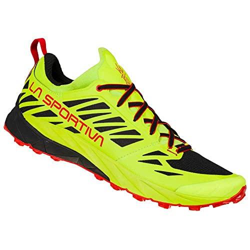 LA SPORTIVA Kaptiva, Zapatillas de Trail Running Hombre, Neon/Goji, 42 EU