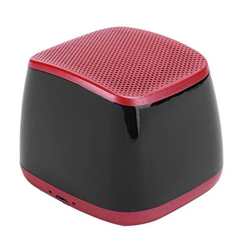 Gerioie Altavoz Bluetooth 5.0, emparejamiento estéreo inalámbrico Manos Libres sin demora, Llamadas Manos Libres Altavoz Bluetooth móvil con Tres Opciones de reproducción para el hogar y la(Red)