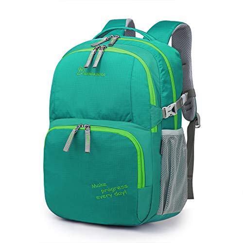 MOUNTAINTOP 18L Kinderrucksack Grundschule Rucksack Daypack Schulrucksack Outdoor Freizeit Schultaschen für Mädchen Jungen Teenager, 29x18x39cm