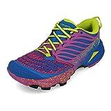 La Sportiva Akasha Woman, Zapatillas de Trail Running para Mujer, Multicolor (Marine Blue/Purple 000), 38 EU