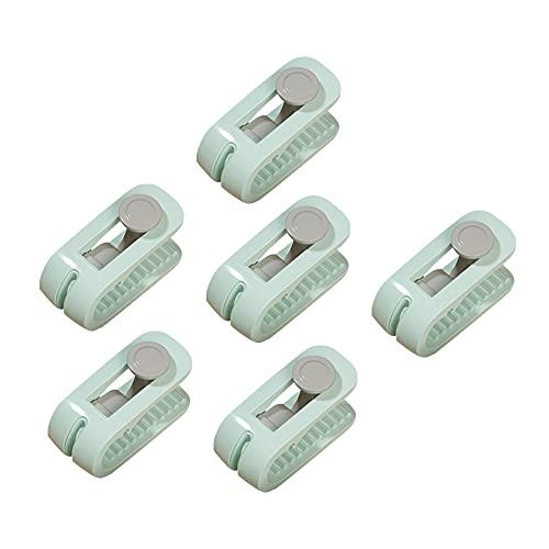 GKYI Trapunta Clip di Fissaggio Lenzuolo Trapunta Supporto di Fissaggio Antiscivolo Senza Ago Coperta Fibbia Anti-Corsa Dispositivo Domestico