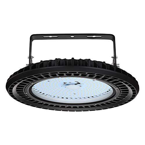 UFO LED Industrielampe, Fairyland 200W LED Hallenstrahler Deckenleuchte, LED Hallenleuchte Industrial Strahler Kronleuchter Hallenbeleuchtung Werkstattbeleuchtung, Kaltweiß 6000-6500K