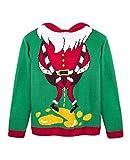 Weihnachtenspullover Ugly Christmas Sweater Hässliche Süßer Nikolaus