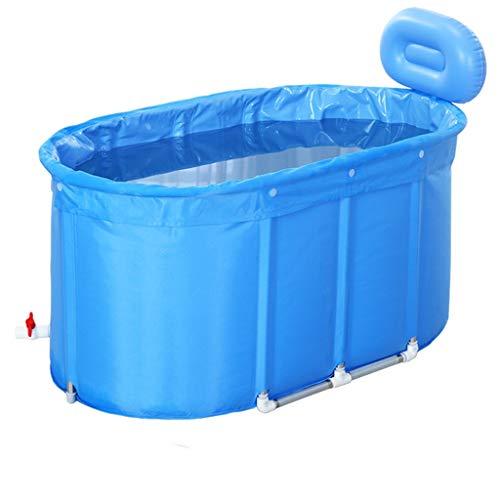 Opvouwbare Badkuip van de baby Pool Home Adult bad Portable Hot Tubs Insulation Kinderen Barrels Badkuip Alloy Bracket Grote Twin Babyzwemmen Bath Geen Inflatie,110cm