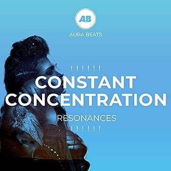 ! ! ! ! ! ! Constant Concentration Resonances ! ! ! ! ! !