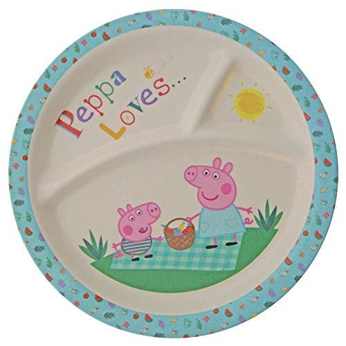 Peppa Pig A29677 Plato, bambú