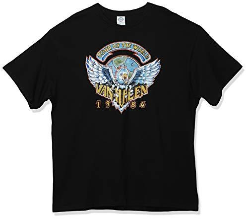 Official Van Halen 1984 Tour Of The World Men's T-Shirt, S to 3XL