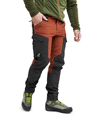 RevolutionRace Herren GPX Pants, Hose zum Wandern und für viele Outdoor-Aktivitäten, Rusty Orange, L
