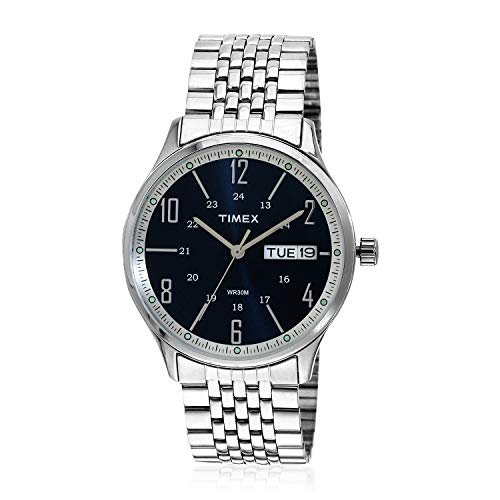 Timex TW0TG6501 - Reloj analógico para Hombre con Esfera Azul