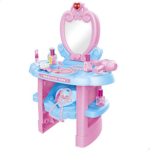 ColorBaby - Centro de belleza tocador infantil interactivo Beauty Fashion Princess (46664)