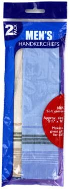 Bulk Buys Men's handkerchiefs (Set of 72)