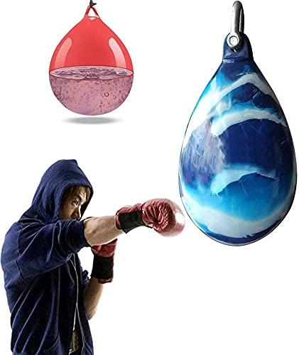 WXFCAS Bolso pesado de agua de karate, bolsa de perforación de agua for el boxeo for colgar en el hogar Boxeo colgando Bolsa de perforación Fortalecer el excedente muscular for entrenar Ejercicio Fitn