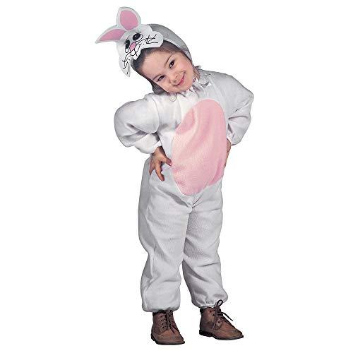 Widmann 3604R - Déguisement pour enfant, lapin, tailles 104 / 110cm