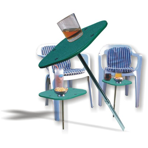 Camping Beach Garden Stick Drinks Table by Pyramid