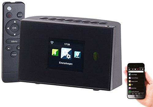 VR-Radio Internetradio Adapter: WLAN-HiFi-Empfänger (Tuner) für Internetradio und UKW, Fernbedienung (Internet Radio Empfänger)