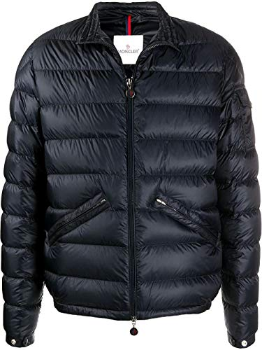 Moncler Luxury Fashion Uomo 1A1100053279776 Blu Piumino | Primavera Estate 20