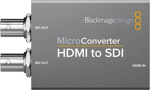 Blackmagic Design HDMI to SDI Micro Converter, Without Power Supply