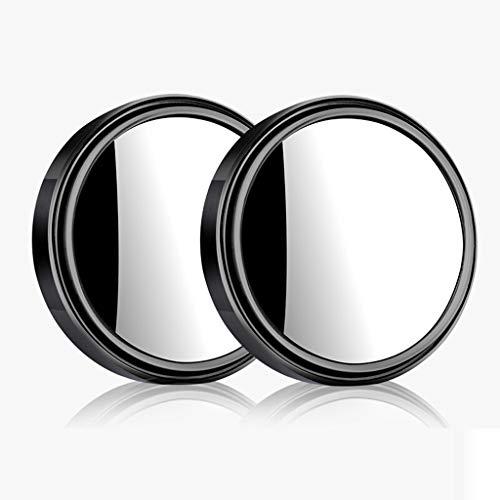 Buffer-Feng Auto-hulpspiegel, achteruitkijkspiegel, die de dode hoek omkeert, spiegel 360 graden verstelbaar met rand-HD-spiegel.