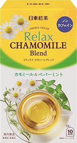 スマートマットライト 日東紅茶 アロマハウス リラックス カモミール 10袋入り × 6個