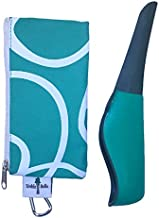 The Tinkle Belle Female Urination Device   Portable Urinal with Case! Stand to Pee While Staying Fully Clothed! Easy, Compact, Reliable for Hiking/Camping/Travel/Concerts/Festivals/Dirty Toilets