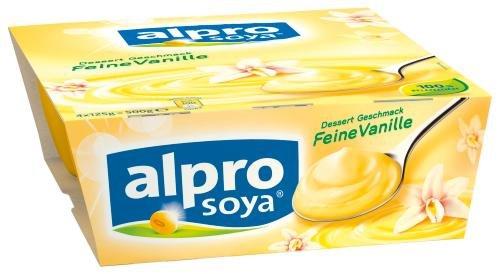 Alpro Soya Dessert feine Vanille, 6er Pack (6 x 500 g)