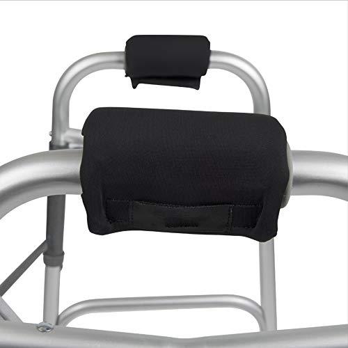Krückenpolster Griffpolster Krücken Pads Griffbezüge Rollstuhl-Armlehnenpolsterc, 2er Set - Besonders handfreundlich, schützen vor Druck und Schwielen