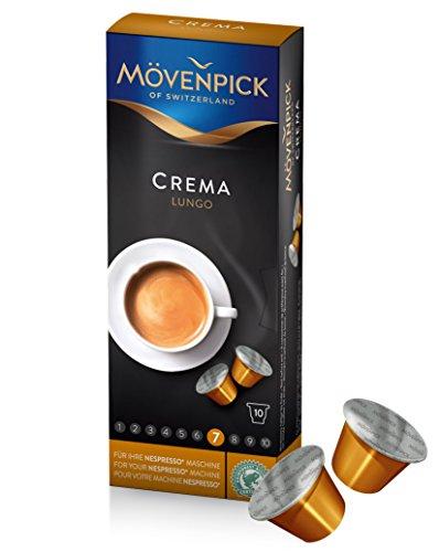 MÖVENPICK CREMA LUNGO Kaffeekapseln 1 x 10 Kapseln