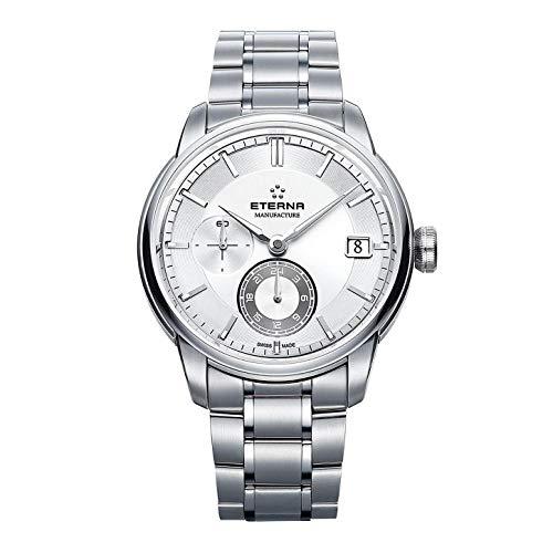 Eterna Herren-Armbanduhr Adventic GMT Manufacture Datum Analog Automatik 7661.41.66.1702