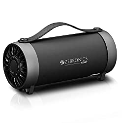 Zebronics Portable Speaker with Bluetooth, AUX, USB and FM - Rocket,Zebronics,Rocket,Zebronics ZEB-ROCKET speaker,Zebronics bluetooth speakers wireless,Zebronics speaker,Zebronics speakers wireless bluetooth,bluetooth speakers,speaker bluetooth,usb speaker,wireless speakers