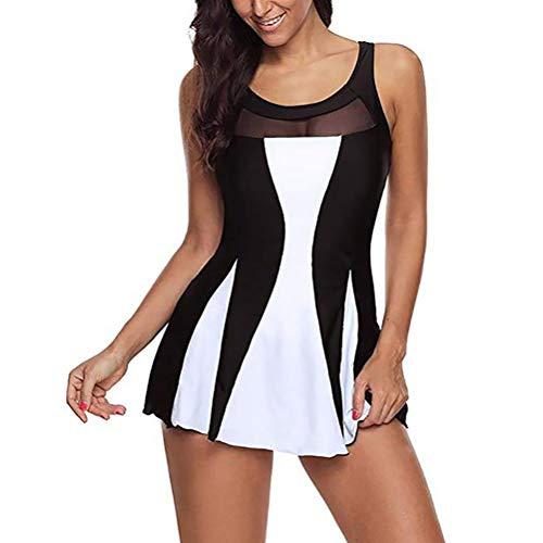 Badkleding voor dames bikini cut flower tweedelig badpak tankini strandpak