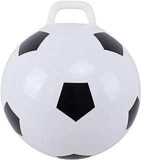 YeahiBaby Pelota de Fútbol Inflable Pelota Saltarina de Juguete de fútbol de PVC para Actividades al Aire Libre en Interiores para niños 45 cm