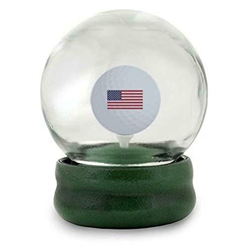 Original Golf Globe Game - Water Globe Golf-Ball-on-the-Tee Challenge