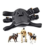 Dog Harness, Back Mount for GoPro Hero 4/3+/3/2/1 SJCAM Sj5000+ Sj4000, Pet Chest
