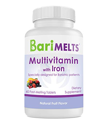 BariMelts Multivitamin with Iron - Fast Melting...