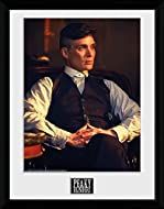 iPosters Peaky Blinders Tommy Sitting Framed Print - 44 x 34 cm (Approx 18 x 14 Inches)