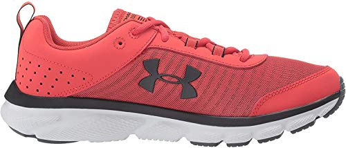 Under Armour Men's Charged Assert 8 Running Shoe, Martian Red (601)/Gray Flux, 10