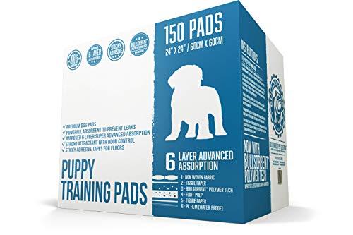 bulldogology premium puppy pee pads