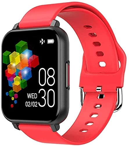 Panduo YLB Smart Watch 1 54 pulgadas pantalla a color táctil IP67 vida impermeable deportes fitness Tracker (color: rojo)