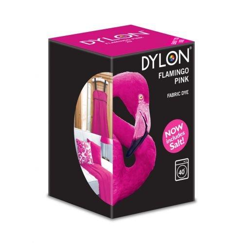 Dylon Maschine Dye 350g Salz enthalten. Flamingo Pink–Bulk Rabatt erhältlich rose