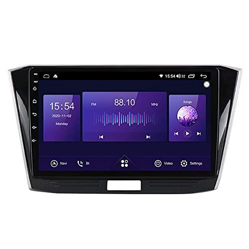 KLL Android 10 Autorradio GPS Navegación del Coche pour Passat B8 2015-2018 mp5 Multimedia Reproductor FM Am Radio DSP carplay Manos Libres Bluetooth+Cámara Trasera
