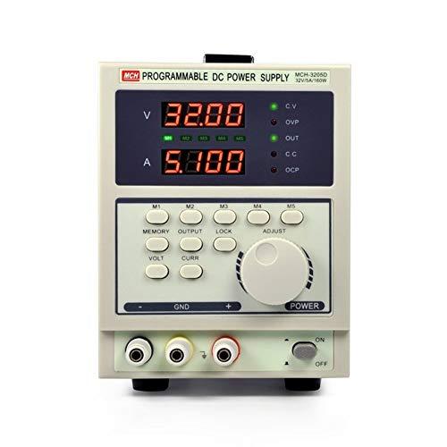 MCH3205D Fuente de alimentación de CC estabilizada programable Pantalla de cuatro dígitos Fuente de alimentación de CC lineal DISEÑO HUMANO,USO AMPLIO