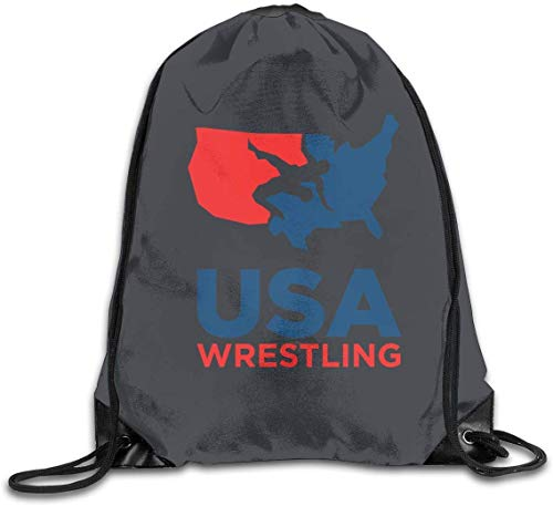 engzhoushi Turnbeutel,Sporttaschen,Schultasche Drawstring Bag Casual Daypacks Gym Bag USA Wrestling