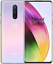 OnePlus 8 IN2017 5G Verizon + GSM Unlocked 128GB Android Smartphone - Interstellar Glow (Renewed)