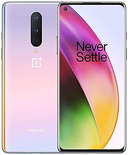 OnePlus 8 Glacial Green,​ 5G Unlocked Android Smartphone U.S Version, 8GB RAM+128GB Storage, 90Hz Fluid Display,Triple Camera, with Alexa Built-in, (Renewed)