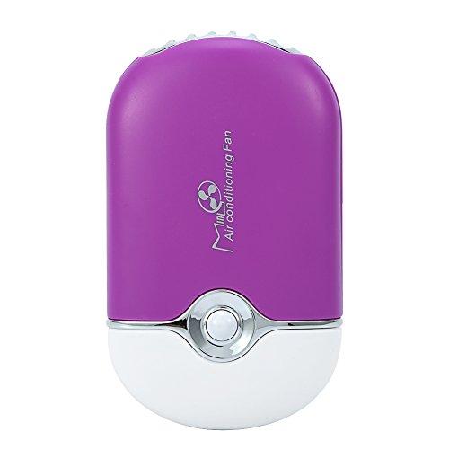 Extension de cils colle rapide sèche-linge ventilateur refroidissement portable USB Mini ventilateur sec outil(lilas)